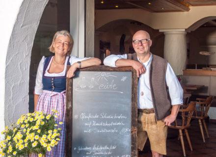 ... Birgit und Hubert Maucher freuen sich auf Ihren Besuch!
