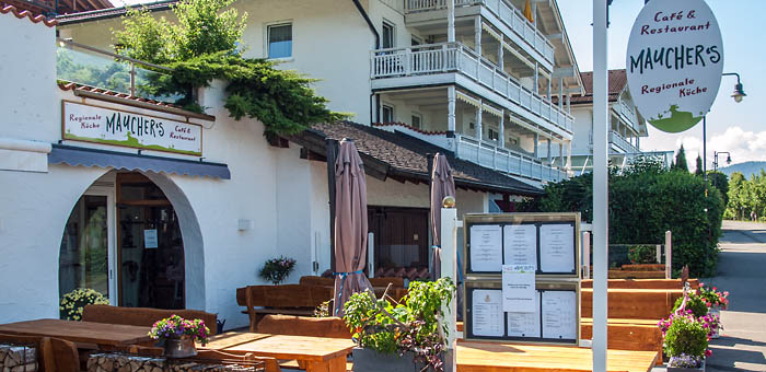 Terrasse bei Mauchers Restaurant & Café