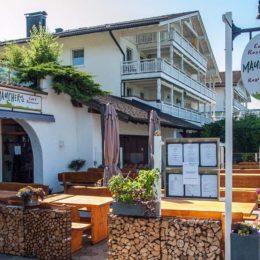 Rustikal und urig bei in Maucher's Restaurant in Hopfen am See in Füssen